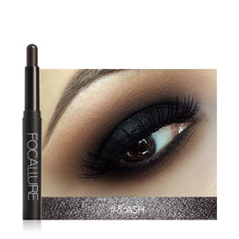Pro 12 Colors Eyes Makeup Liner Combination Sticker Easy to Wear