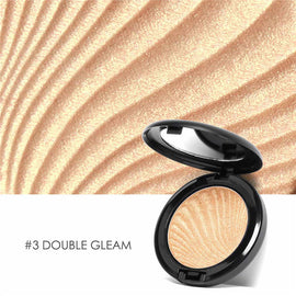 FOCALLURE New 4 Colors Ultra Glow Beam Highlighter Palette Powder Makeup Highlighter Contour Palette