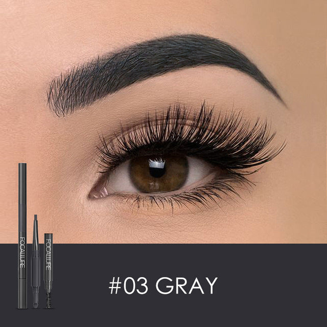 3 in 1 Auto Brows Pen 24 Hours Long-lasting