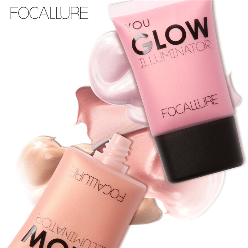 Glow Liquid Illuminatore Face Body Highlighter Cream