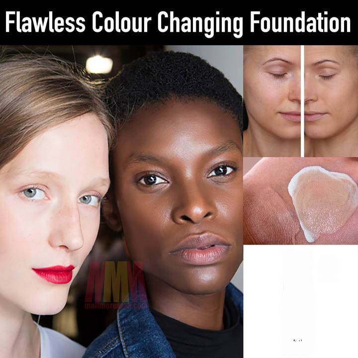 New Arrival TLM Color Changing Foundation