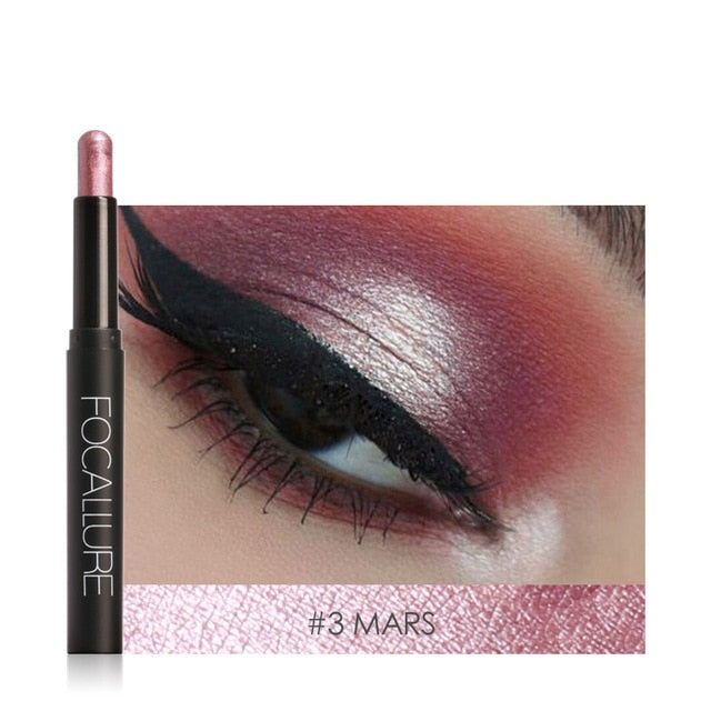 Glitter Shades Eyeshadow Pencil High Pigment Cosmetic Professional Make up