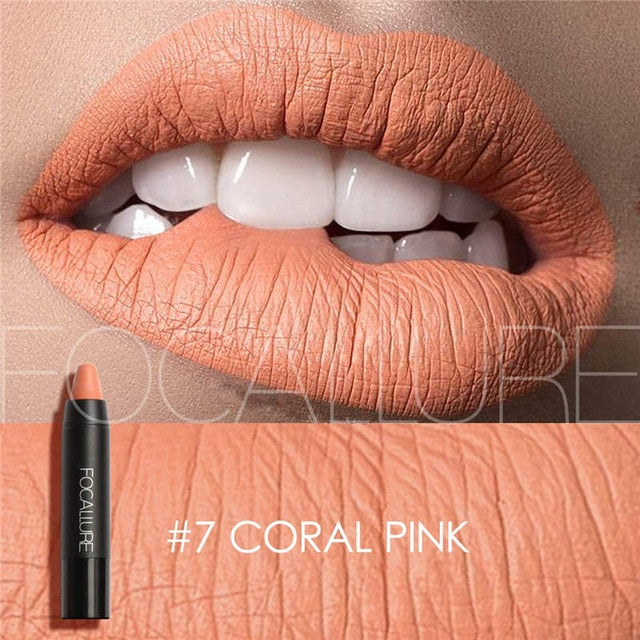 Matte Lipstick 19 Colors Waterproof