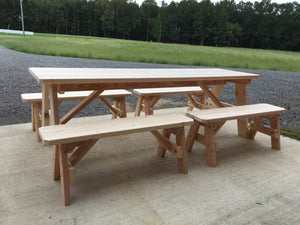 8' Picnic Table - The Giving Table