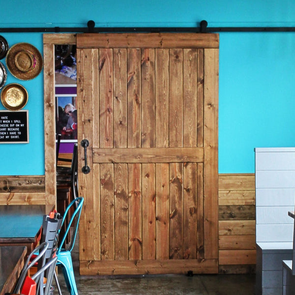 T4L Barn Door with Hardware - The Giving Table