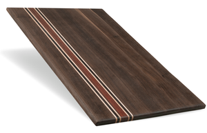 Walnut Bloodwood Cutting Board - The Giving Table