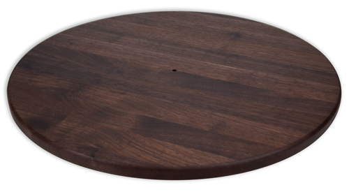 "Walnut Lazy Susan - 18"" - The Giving Table"