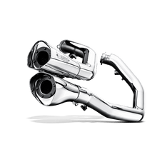 Load image into Gallery viewer, Akrapovic HARLEY-DAVIDSON SPORTSTER XL 1200L LOW 06 Open Line (Chrome)