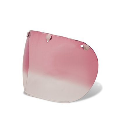 Bell Custom 500 3-SNAP PINK GRADIENT SHIELD/VISOR