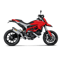 Load image into Gallery viewer, Akrapovic DUCATI HYPERMOTARD 13-15 Evolution Header (Titanium)
