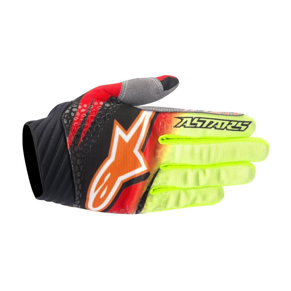 Techstar Venom Gloves 16 RED/YEL/BLK