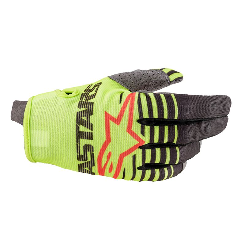 Alpinestars 2020 Radar Youth Gloves - Yellow/Anthracite