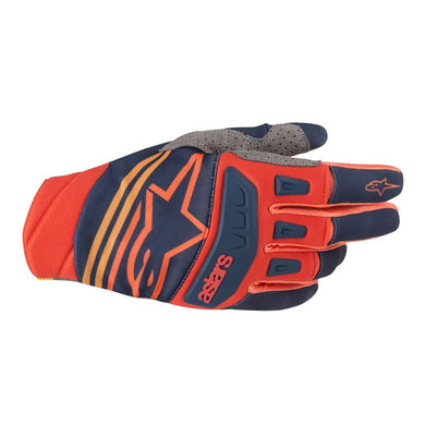 Techstar 19 Gloves BLU/RED/ORG