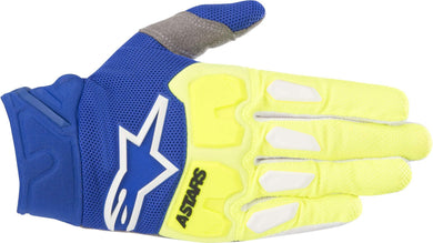 Racefend Gloves 18 YEL/BLU