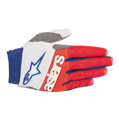 Racefend Gloves 19 WHT/RED/BLU