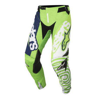 Techstar Venom Pants 18 (GREEN FLO WHITE DARK BLUE)