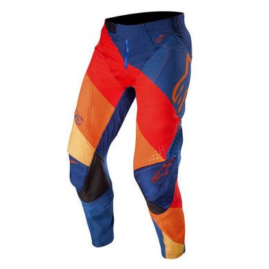 TECHSTAR VENOM 19 PANTS (DARK-BLUE RED ORANGE)