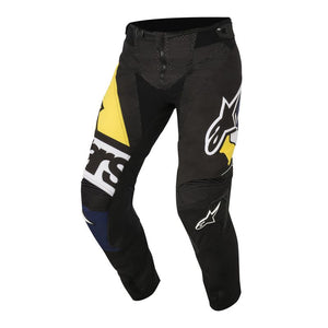 TECHSTAR FACTORY 18 PANTS (BLACK DARK BLUE WHITE YELLOW)
