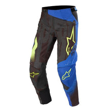Load image into Gallery viewer, Alpinestars Techstar Factory 20 MX Pants BLK/BLU/YEL
