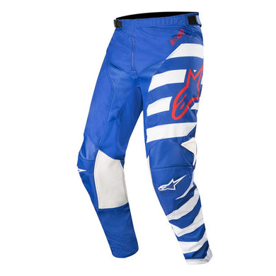 Racer Braap Pants 19 (BLUE WHITE RED)