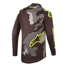Load image into Gallery viewer, Alpinestars Racer Tactical 20 Jersey - Camo/Yellow