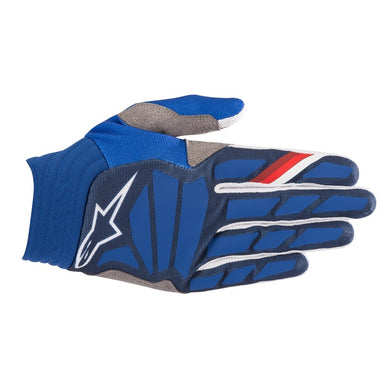 Aviator Gloves 19 BLU/WHT