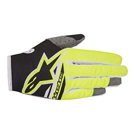 Radar Flight Gloves 18 BLK/YEL F