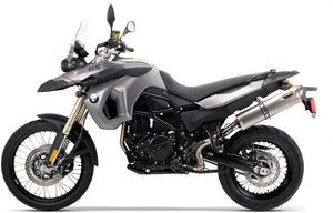 Two Brothers Racing BMW F800 GS (09-15) Black Series M-2 Titanium Canister Slip-On Exhaust System