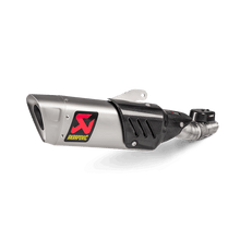 Load image into Gallery viewer, Akrapovic YAMAHA YZF-R6 17-20 Slip-On Line (Titanium)