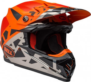 BELL MOTO-9 MIPS TREMOR - Black/Orange