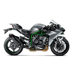 Akrapovic KAWASAKI NINJA H2 15- 16 Slip-On Line (Carbon)