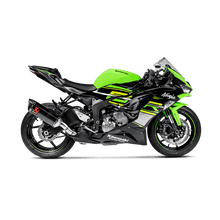 Load image into Gallery viewer, Akrapovic KAWASAKI NINJA ZX-6R 636 09-20 Slip-On Line (Carbon)