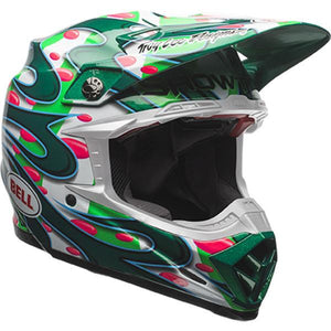 BELL MOTO 9 FLEX MC GRATH REPLICA (GREEN)