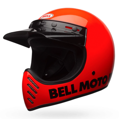 BELL MOTO 3 CLASSIC (FLO ORANGE)