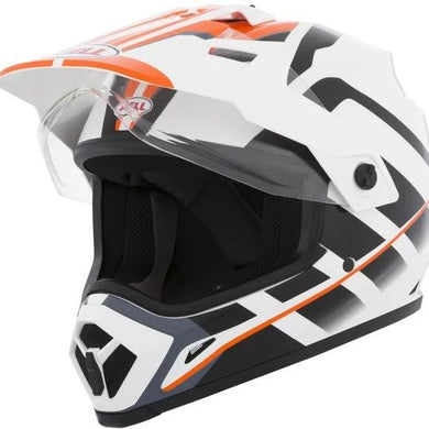 BELL MX-9 ADVENTURE RAID (ORANGE WHITE)