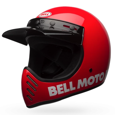 BELL MOTO 3 CLASSIC (RED)