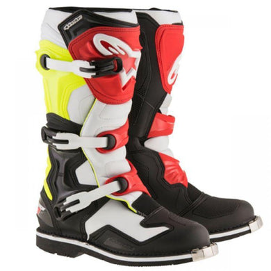 Tech1 Boots RED/BLK/WHT/YEL