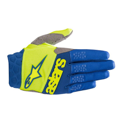 Racefend Gloves 19 YEL/BLU