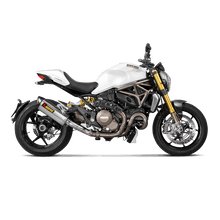 Load image into Gallery viewer, Akrapovic DUCATI MONSTER 1200/1200S 14 Link Pipe (Titanium)