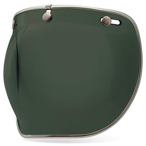 Bell Custom 500 DLX Bubble Visor Wayfarer Green