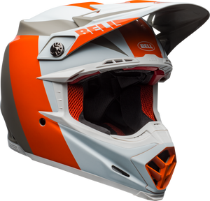 BELL MOTO-9 FLEX DIVISION WHITE/ORANGE/SAND