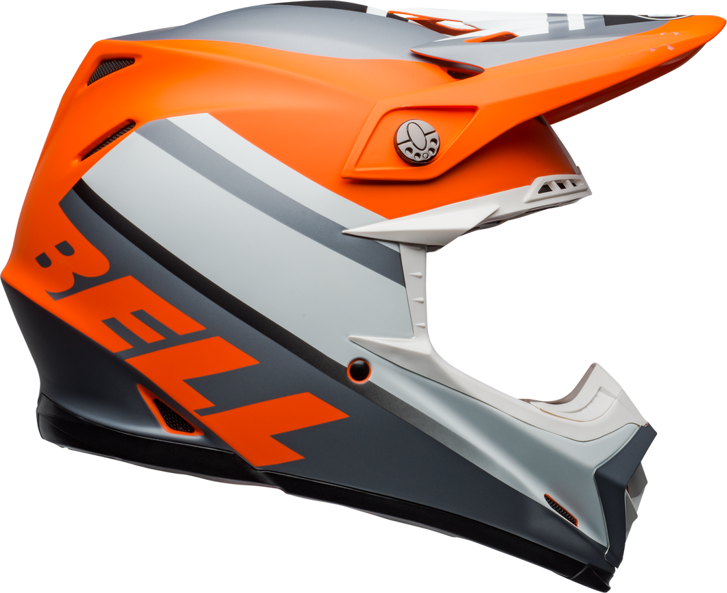 BELL MOTO-9 MIPS PROPHECY ORANGE/BLACK/GRAY