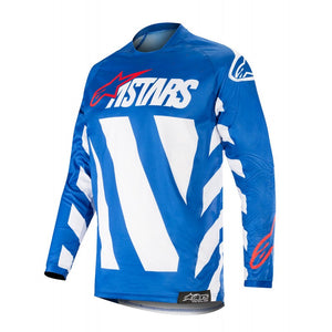 Racer Braap Jersey 19 (BLUE WHITE RED)
