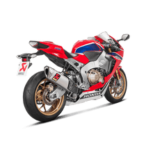 Load image into Gallery viewer, Akrapovic HONDA CBR 1000 RR/SP 2017-2019 Slip-On Line (Titanium)