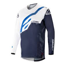 Techstar Factory Jersey 19 (WHITE NAVY)