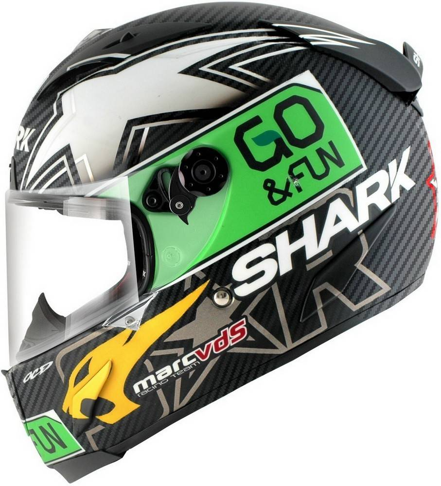 SHARK RACE-R PRO CARBON REDDING DUAL DGY