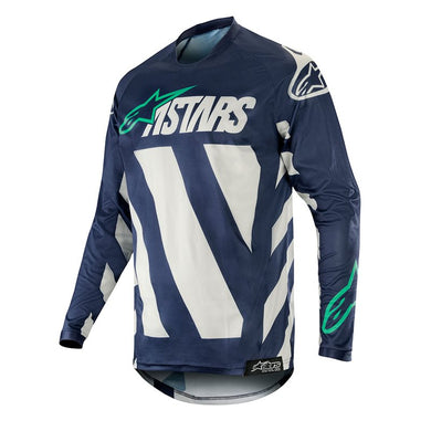 Racer Braap Jersey 19 (GREY NAVY TEAL)