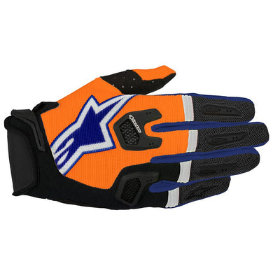 Racefend Gloves 18 BLU/ORG/WHT