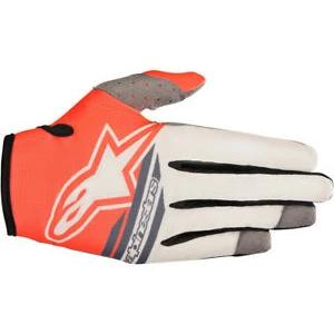 Radar Flight Gloves 18 SND/GRY/RED