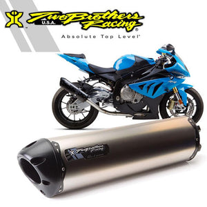 Two Brothers BMW S1000RR (10-14) M2 Black Series Titanium Full System Exhaust